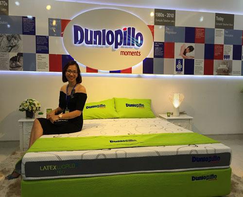 Đệm Dunlopillo tạo giấc ngủ hiệu quả