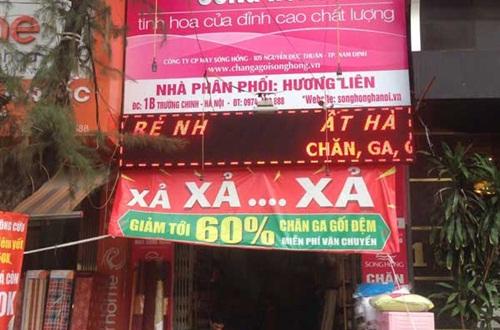Chuỗi hệ thống đệm Dunlopillo chính hãng tại Hà Nội