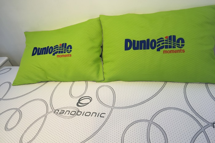 Đệm cao su Dunlopillo cao cấp có những mẫu nào?